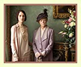 Lady Mary Crawley and Dowager Violet Crawley Michelle Dockery Maggie Smith Downton Abbey 11x14 Double Matted 8x10 Wall Art Photo Print
