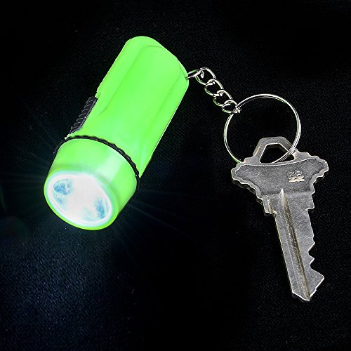 12 팩! /Pack Of 12 ! Mini Flashlight Key-Chains In Assorte..
