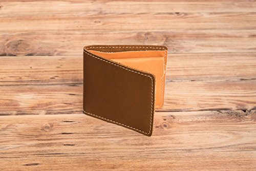 Credit Card Holder Billfold with Coin Section Wallet Father's Day Gift for Him