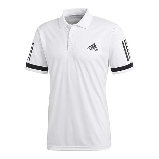 b9a84f5047452 adidas Mens Tennis Club 3-Stripe Polo