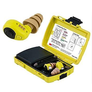 3 M Peltor lep100eu Tapones Auriculares Electrónicos Para Protección función antirruido USB