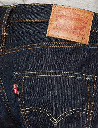 Lane 1622 blue Levi's Uomo Fit Straight 501 l30 Original Blu W34 Jeans cxF1w18z0q