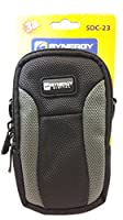 Nikon Coolpix S9700 Digital Camera Case SDC-23 Point & Shoot Digital Camera Case, Black / Grey by Dynamic Power