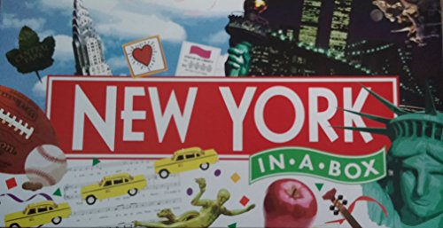 New York In-A-Box Game, Authentic New York Landmark Edition