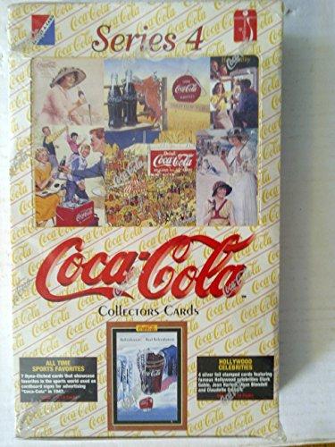 1995 Coca Cola Series 4 Collectors Trading Cards Box - 36 Packs/Box