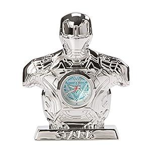 Animewild Marvel Avengers Age of Ultron Silver Iron Man Mark 43 Desk Clock