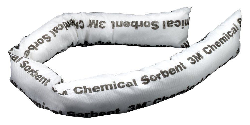 3M Chemical Sorbent Mini-Boom P-200, Environmental Safety Product, 12 gallons, 12 ea/cs (Pack of 12)