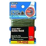 Tajima PL-ITOL Chalk-Rite Premium Grade Extra Bold Nylon Line, 1 mm Thick by 100-Feet