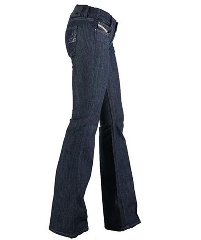 27e74849 Diesel louvely 008wz ladies bootcut jeans, blue, W31 L34: Amazon.co.uk:  Clothing