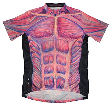 Primal Wear Jesse the Body Cycling Jersey Men s XL Short Sleeve Limited  Edition Muscle Design 6786cfd62