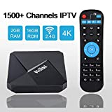 Arabic Brazilian Indian Chinese America Europe IPTV International Receiver Box with 1500+ Global