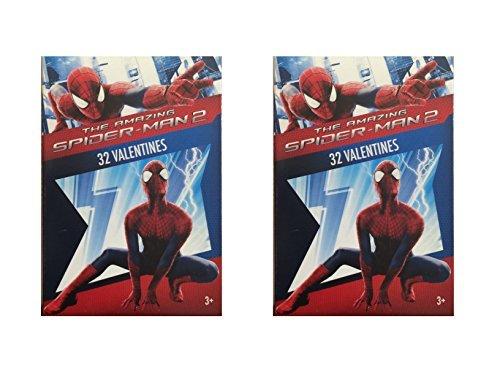 The Amazing Spider-Man 2 32 Valentine Cards (2 Pack)