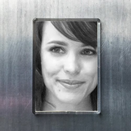 Seasons Rachel McAdams - Original Art Fridge Magnet #js001