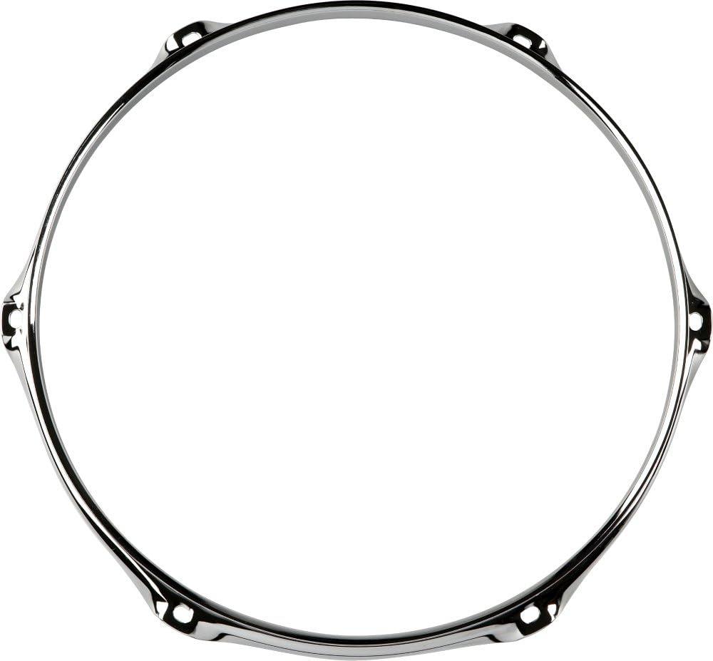 "Tom // Snare Batter WW Ship Pair New 2.3 Chrome Drum Hoops 2 13/""- 6  Hole//Lug"