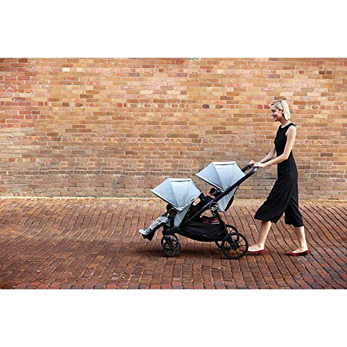 51ig2PrjfBL - Baby Jogger City Select LUX Stroller | Baby Stroller With 20 Ways To Ride, Goes From Single To Double Stroller | Quick Fold Stroller, Slate
