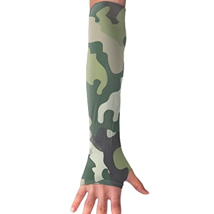 Amazon.com: Mangas de brazo de camuflaje militar con ...