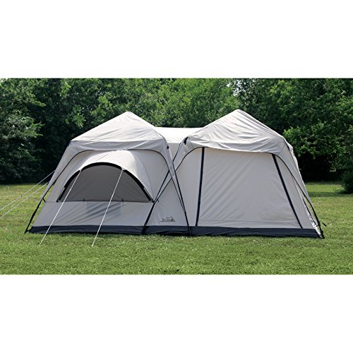 Texsport-Twin-Peaks-Two-Room-Cabin-Dome-Tent  sc 1 st  Discount Tents Nova & Texsport Twin Peaks Two-Room Cabin Dome Tent | DiscountTentsNova