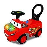 Kiddieland Toys Disney PIXAR Cars Lightning McQueen Light and Sound Activity Ride-on