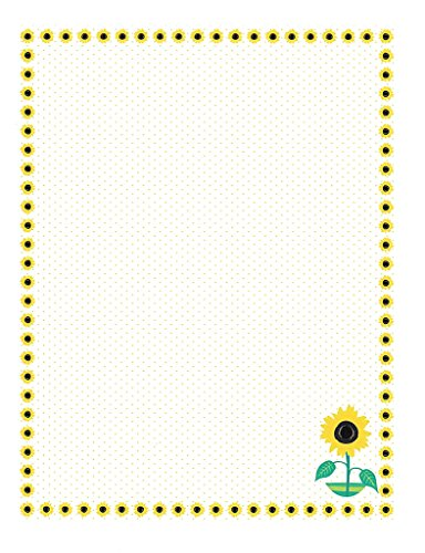 Sunflower Stationery Printer Paper 26 Sheets