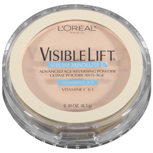 L'Oreal Paris Visible Lift Serum Absolute Advanced Age-Reversing Powder, Fair, 0.28 -