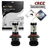 04 f250 fog lights - Partsam 2PCS 9005 9055 Fog Driving Light Genuine Cree Chip High Power 30W Led Projector Lens for 2002-2005 FORD Crown Victoria