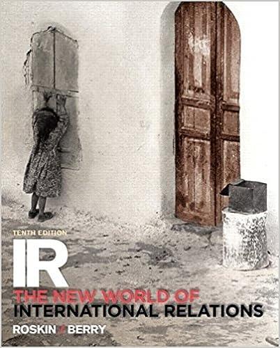 Amazon com: IR: The New World of International Relations (10th