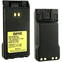 Icom BP280 2-Way Radio Battery (Li-Ion 7.4V 2400mAh) - Replacement For ICOM BP280LI Two-way Radio Battery