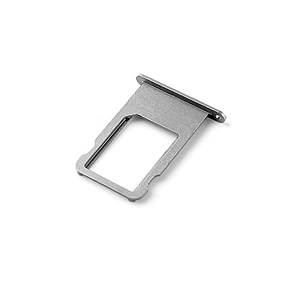 los angeles de6fc 381a9 Ewparts SIM Card Tray Replacement for iPhone 6 Plus 5.5 Inch (Grey)
