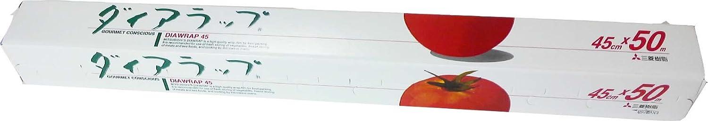 ダイアラップ45cm×50m 150本 30本×5ケース 業務用ラップの決定版です。タップリ使えて経済的です B0033EX0IO