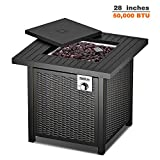 TACKLIFE Fire Pit Table