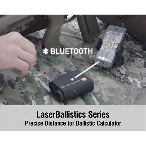 theOpticGuru ATN Laser Ballistics Range Finder w/Bluetooth, Ballistic  Calculator and Shooting Solutions App
