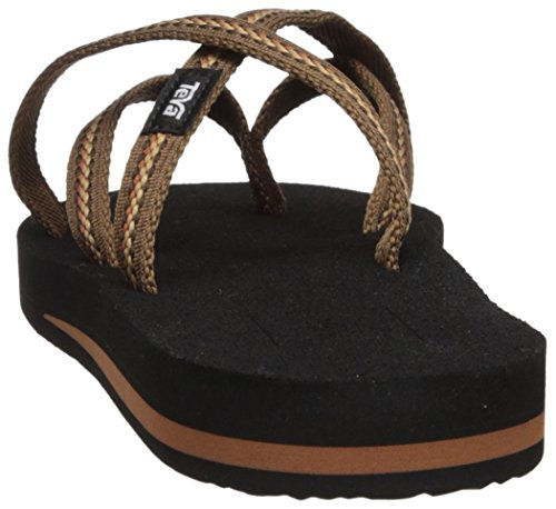 Lindi Ss18 Teva Olowahu Flip Flops Brown Women's 477fXTq