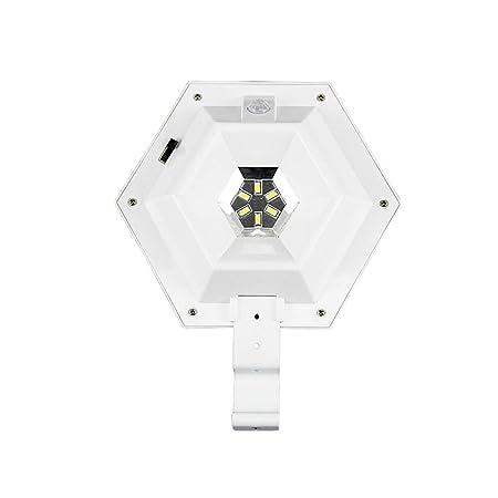 WKZ Lámpara de Seguridad Solar, LED de luz de inundación IP65 ...