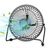 USB Fan - Personal Desk Fan with 1.4m USB Cable, 6 Inch Mini Fan USB Fans for Desk, Quiet and Powerful, Perfect Office Fan USB Personal Fan for Home & Office in Hot Summer Days