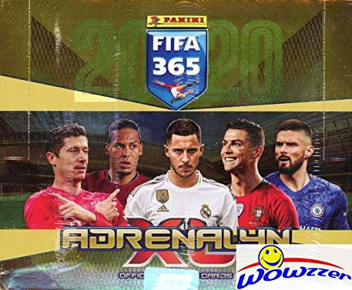 2020 Panini - 2020 Panini Adrenalyn XL FIFA 365 HUGE 24 Pack Factory Sealed Booster BOX with 144 Cards! Look for Stars including Lionel Messi, Ronaldo, Kylian Mbappe, Neymar & More! Imported from Europe! WOWZZER!
