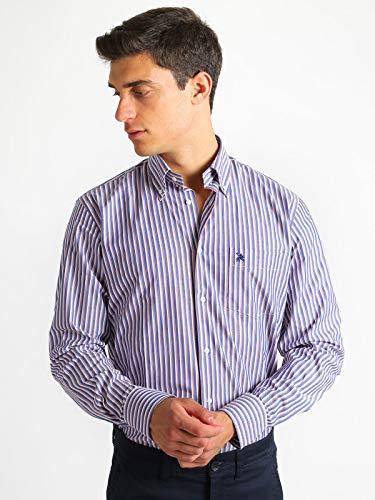 Rigata Classic 3 Fit Uomo Camicia Cotone Fantasia 0ZptnwAq