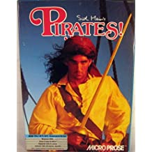 """Sid Meier's Pirates IBM PC Compatable 3.5"""" Disks Microprose"""