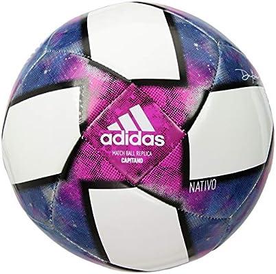 adidas MLS Capitano - Balón de fútbol (talla 4), color blanco y negro: Amazon.es: Deportes y aire libre
