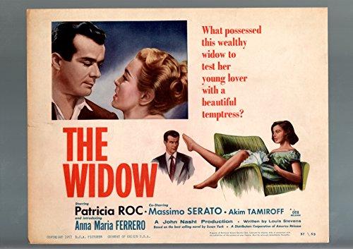 the-widow-1957-lobby-card-vg-fn-drama-patricia-roc-anna-maria-ferrero-s-vg-fn