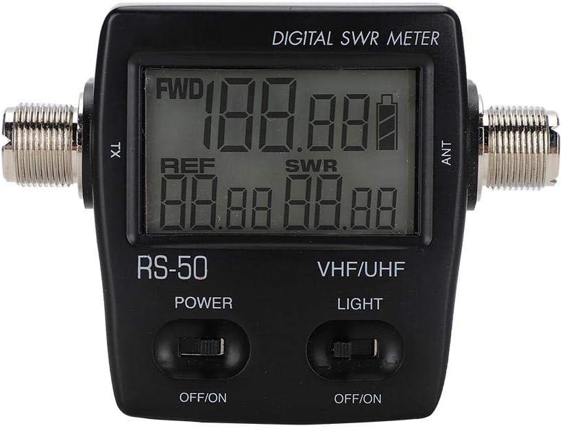 Tangxi Medidor de SWR RS50 para analizador de Antena de Radio ...