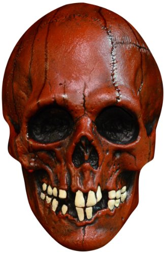 [Trick or Treat Studios Nightowl Skull-Red, Multi, One Size] (Red Skull Costume Amazon)