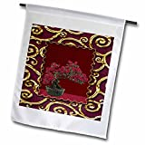 Beverly Turner Chinese New Year Design - Bonsi Tree - 18 x 27 inch Garden Flag (fl_40274_2)