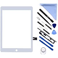 """White Digitizer Repair Kit for iPad 9.7"""" 2018 iPad 6 6th Gen A1893 A1954 Touch Screen Digitizer Replacement (Without…"""