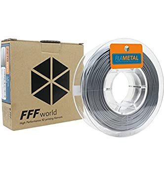 FFFworld FilaMETAL Aluminium 250gr. 1.75 mm Filamento metálico para Impresora 3D: Amazon.es: Electrónica