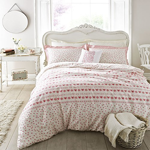 Emma Bridgewater Hearts & Flowers (Double Duvet Cover) by Ashley Wilde