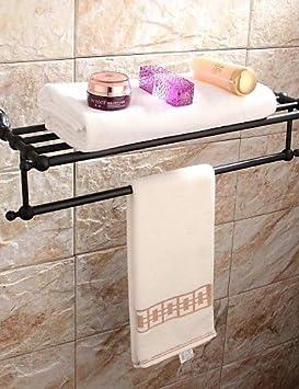 GZ toallero/Radiador-calentador de toallas, Modern Bronce, barnizada pared montaje: Amazon.es: Bricolaje y herramientas