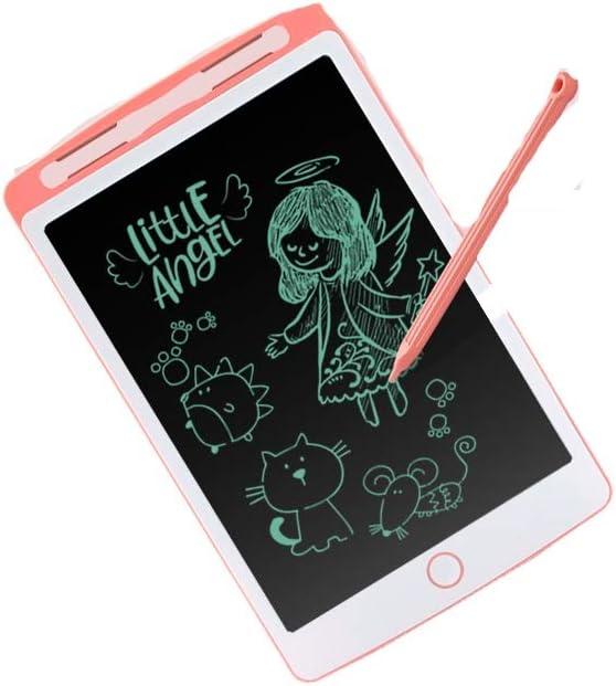 8haowenju LCD Tablet Small Blackboard Red Sketchpad Color : Red Drawing Board Graffiti Electronic Board Blue Writing Board 10 Inch