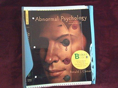 Abnormal Psychology (loose leaf) & Case Studies in Abnormal Psychology