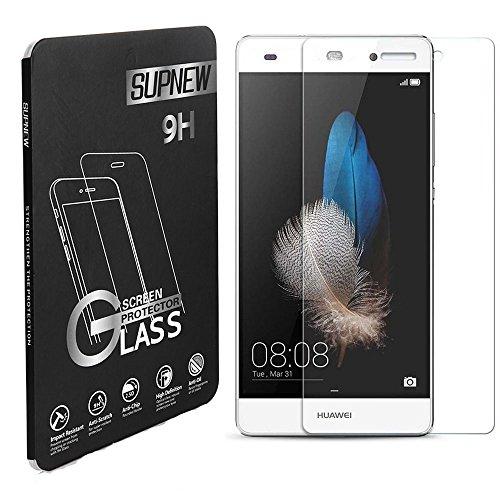 [2-Pack] Huawei P8 Lite Panzerglas, Supnew Gehärtetem Glas Schutzfolie Hartglas Schutzglas für Huawei P8 Lite