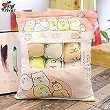 YOYOTOY Japanese Animation One Bag San X Sumikko Gurashi Corner Biological Plush Toy Stuffed Cushion Creative Birthday Boy Must Haves Funny Gifts Toddler Favourite Superhero Unboxing Box